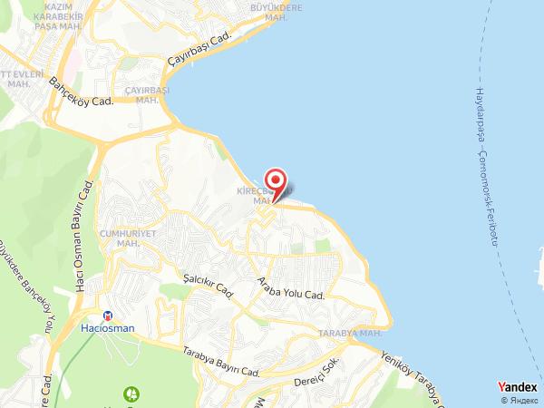 Kireçburnu Deniz Restaurant Yol Haritası