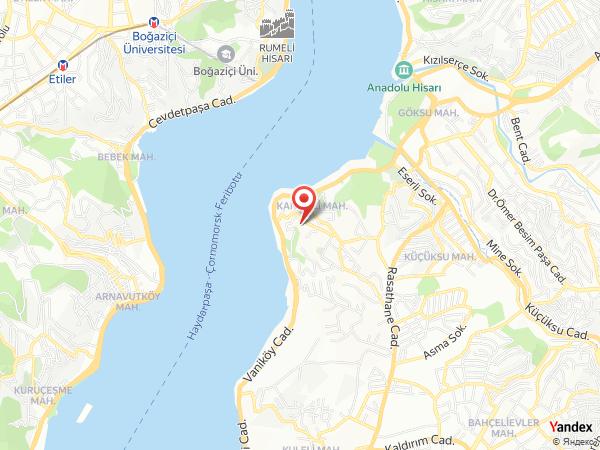 Adile Sultan Sarayı Yol Haritası