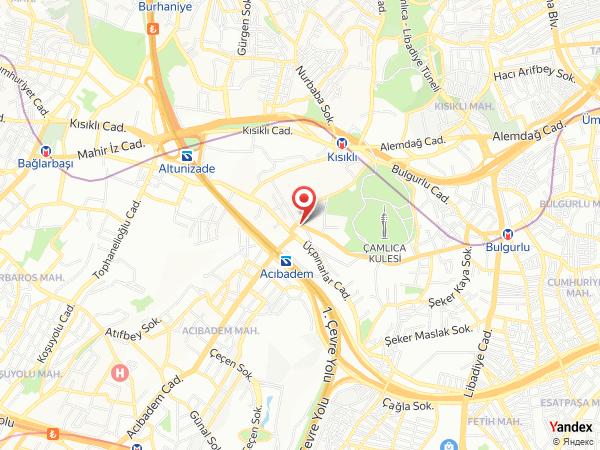 Çamlıca Dilek Restaurant Yol Haritası