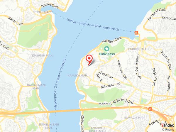Ada Kanlıca - Baro Bahçe Yol Haritası