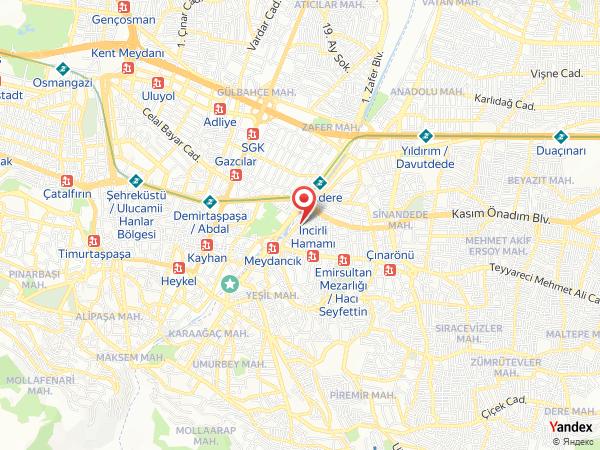 Bursa Flaş Güzellik Salonu Yol Haritası