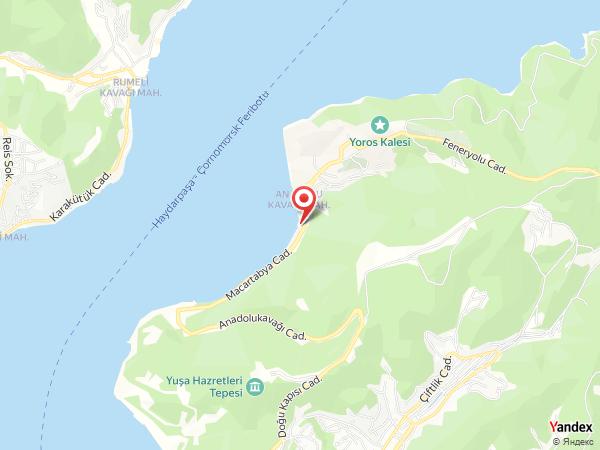 Kavak Doğanay Restaurant Yol Haritası