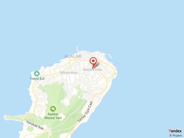 Sergüzeşt Otel Büyükada Yol Haritası