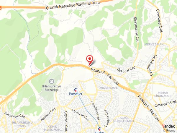 Şahzen Davet & Restaurant / Çekmeköy Yol Haritası