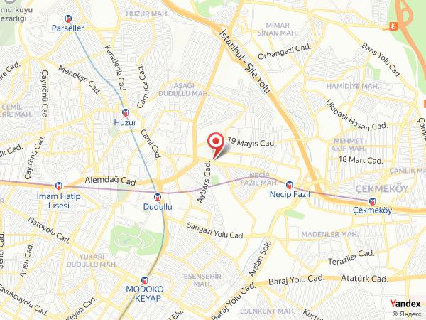 Salon Semazen / Çekmeköy Yol Haritası