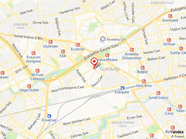 Divan Express Eskişehir Yol Haritası