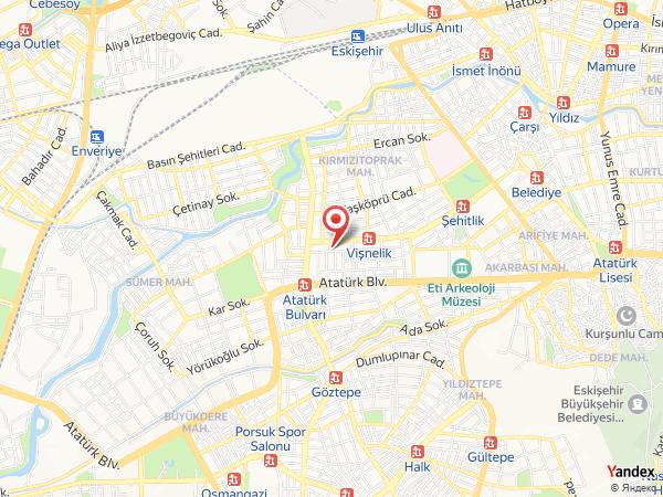 Leto City Hotel Yol Haritası