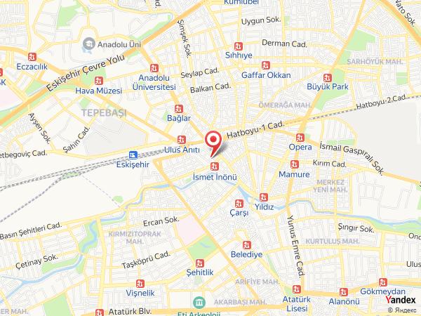 Eskişehir Spor Dans Merkezi Yol Haritası