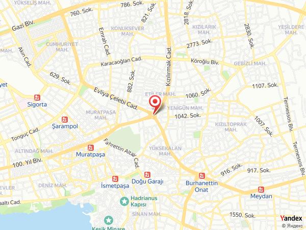 Adonis Hotel Yol Haritası