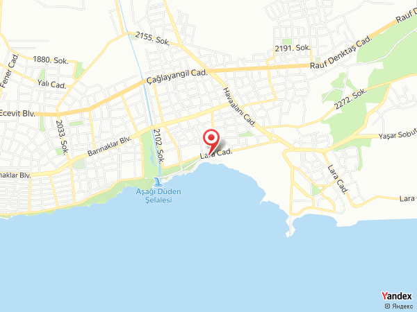 Lara Hotel Yol Haritası