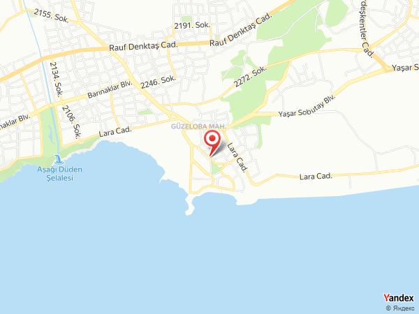 Lara World Hotel Yol Haritası