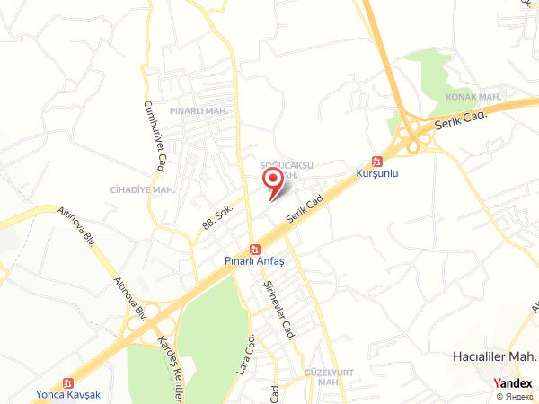 Anfaş Balo Salonu Yol Haritası