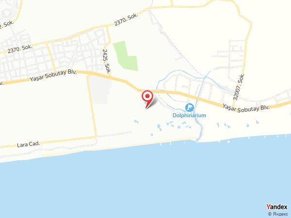 Kervansaray Lara Hotel Yol Haritası