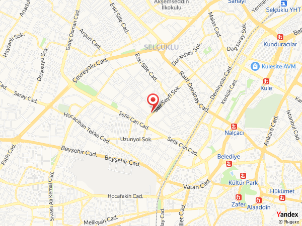 Bera Hotel Konya Yol Haritası