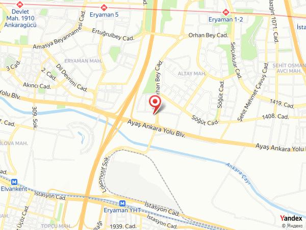 Arven Palas & Terrace Yol Haritası