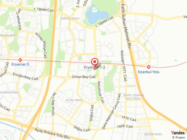 Grand Park Düğün Salonları Yol Haritası