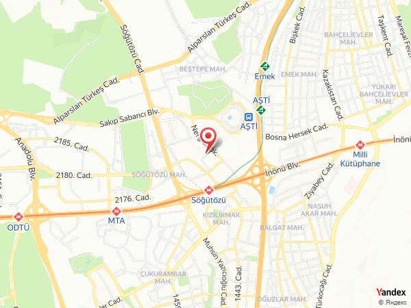 Wyndham Ankara Yol Haritası