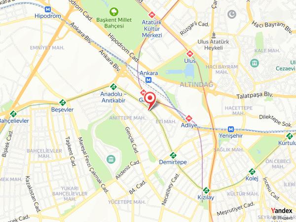 Esila Hotel Yol Haritası