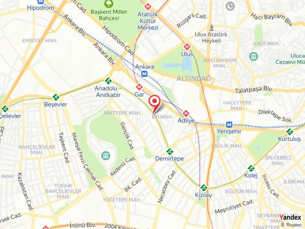 Hotel İçkale Yol Haritası