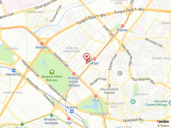 Manhattan Otel Yol Haritası