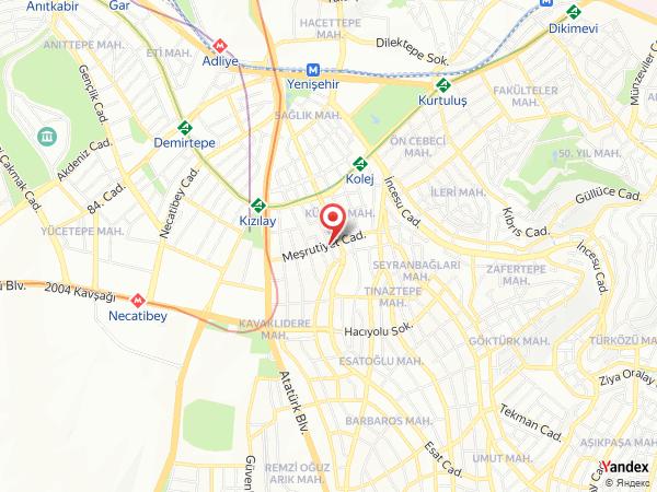 Pembe Mercedes Yol Haritası
