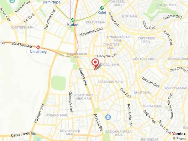 Demonti Otel Yol Haritası