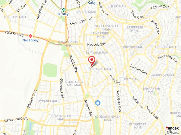 Gordion Hotel Yol Haritası