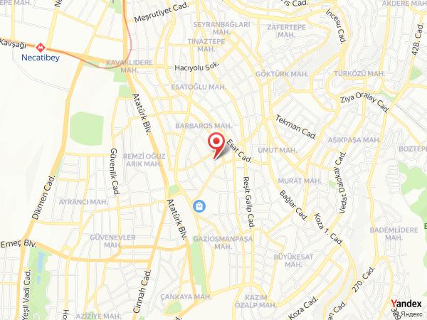 Notte Hotel Yol Haritası