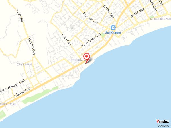 Sahil Martı Hotel Yol Haritası