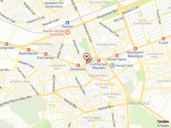 Aris Kayseri Yol Haritası