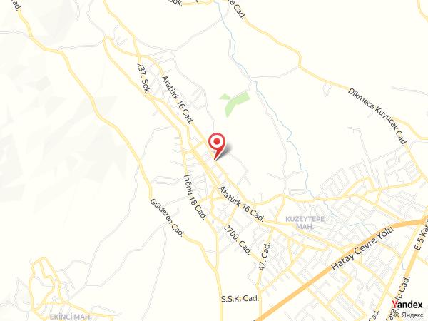 Nuri Kuzeytepe Restaurant Yol Haritası