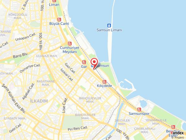 Yeni Gar Restaurant Yol Haritası