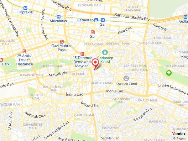 Öz Gaziantep Yol Haritası