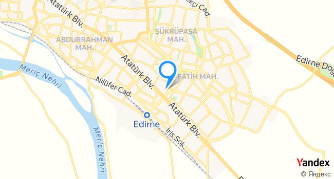 Yedim Et Market haritadaki yeri görseli