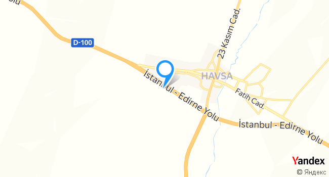 EdrinEt Restaurant haritadaki yeri görseli