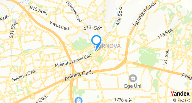Banco Bornova Mağaza haritadaki yeri görseli