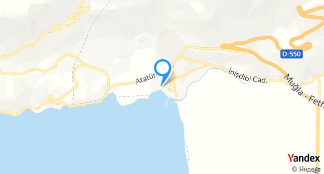 Rüzgar Restaurant haritadaki yeri görseli