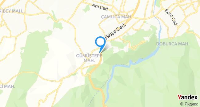 Nilüfer Doğa Restaurant haritadaki yeri görseli