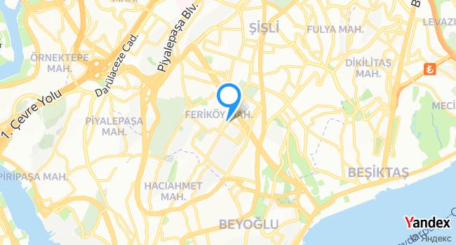 İSMMMO haritadaki yeri görseli