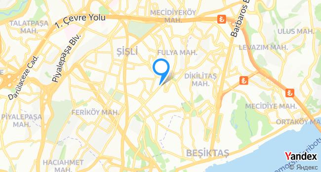 Gürkan Şef Steakhouse haritadaki yeri görseli