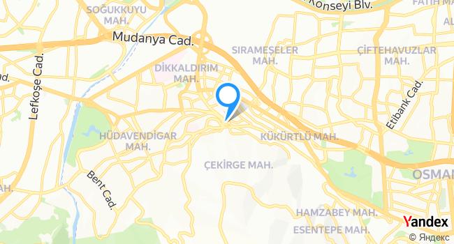 Kervansaray Türk Hamamı haritadaki yeri görseli