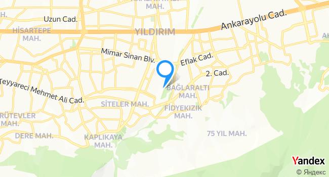 Mimar Sinan Parkı haritadaki yeri görseli