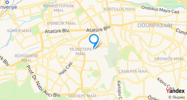 Eskişehir Büyükşehir Belediyesi Konukevi haritadaki yeri görseli