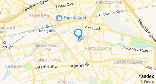 Bahçeli Hamam haritadaki yeri görseli