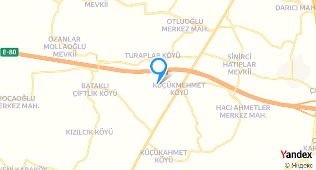 Mezenef haritadaki yeri görseli