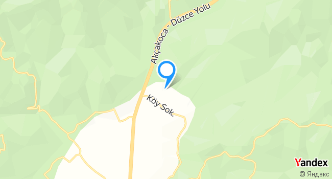 Düzköy Deresi haritadaki yeri görseli