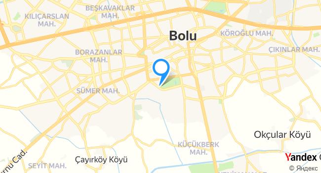 BoluPark Restaurant haritadaki yeri görseli