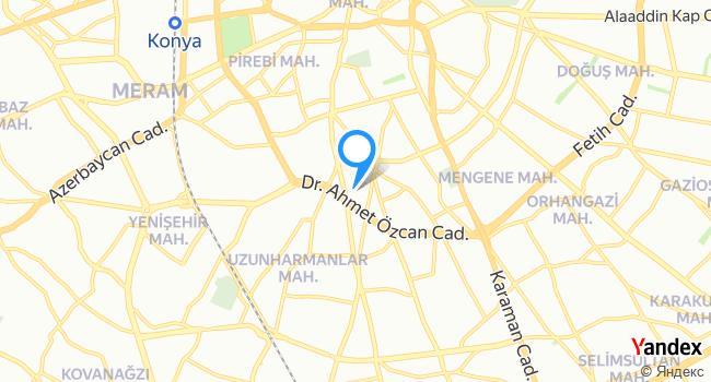 Kurye.net haritadaki yeri görseli