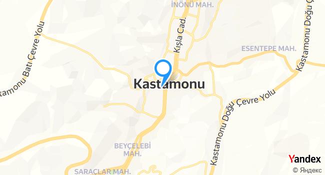 Tarihi Kastamonu Dönercisi Naila haritadaki yeri görseli