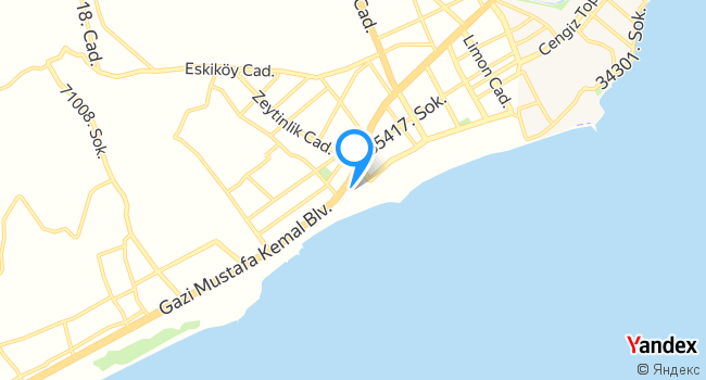 Deniz Yıldızı Havuz başı haritadaki yeri görseli